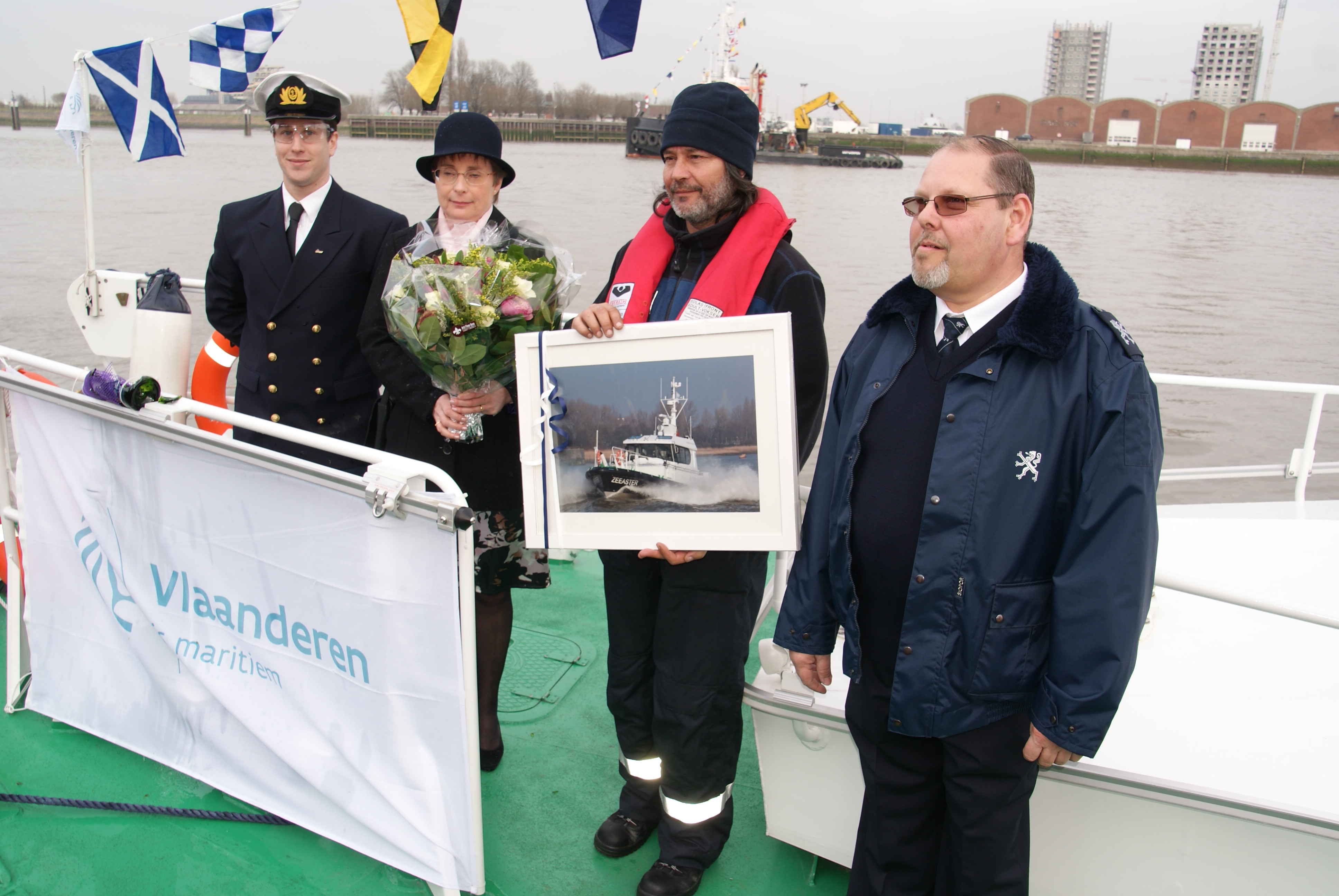 Doop van de Zeeaster Meter Anne-Marie Duytschaever